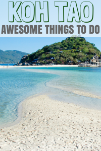 Koh Tao things to do