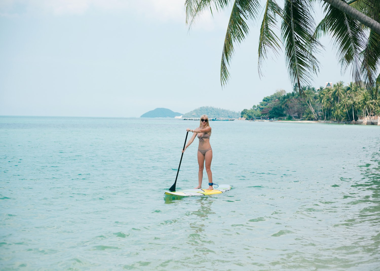 stand up paddleboard - things to do koh tao thailand