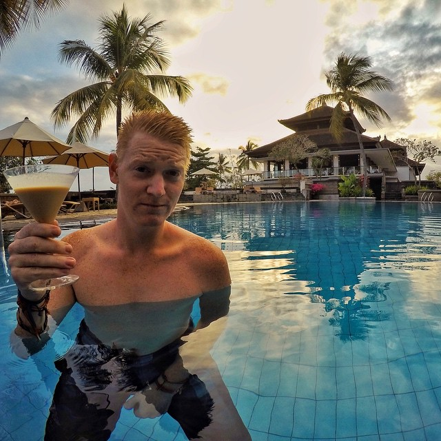 Cocktails in paradise...