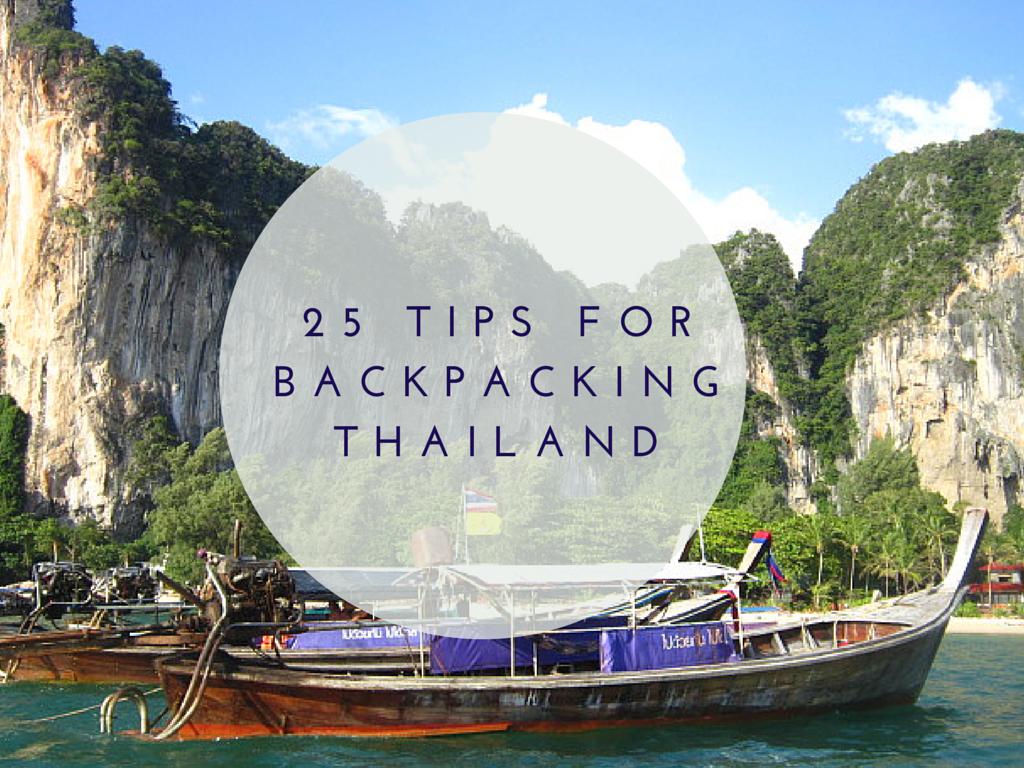 tips traveling around thailand