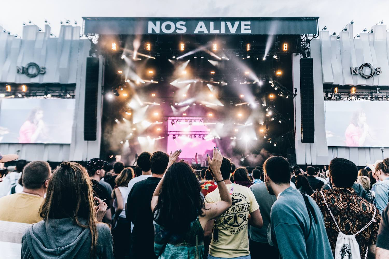 Nos Alive - Portugal - Best Music Festivals in Europe 2020.
