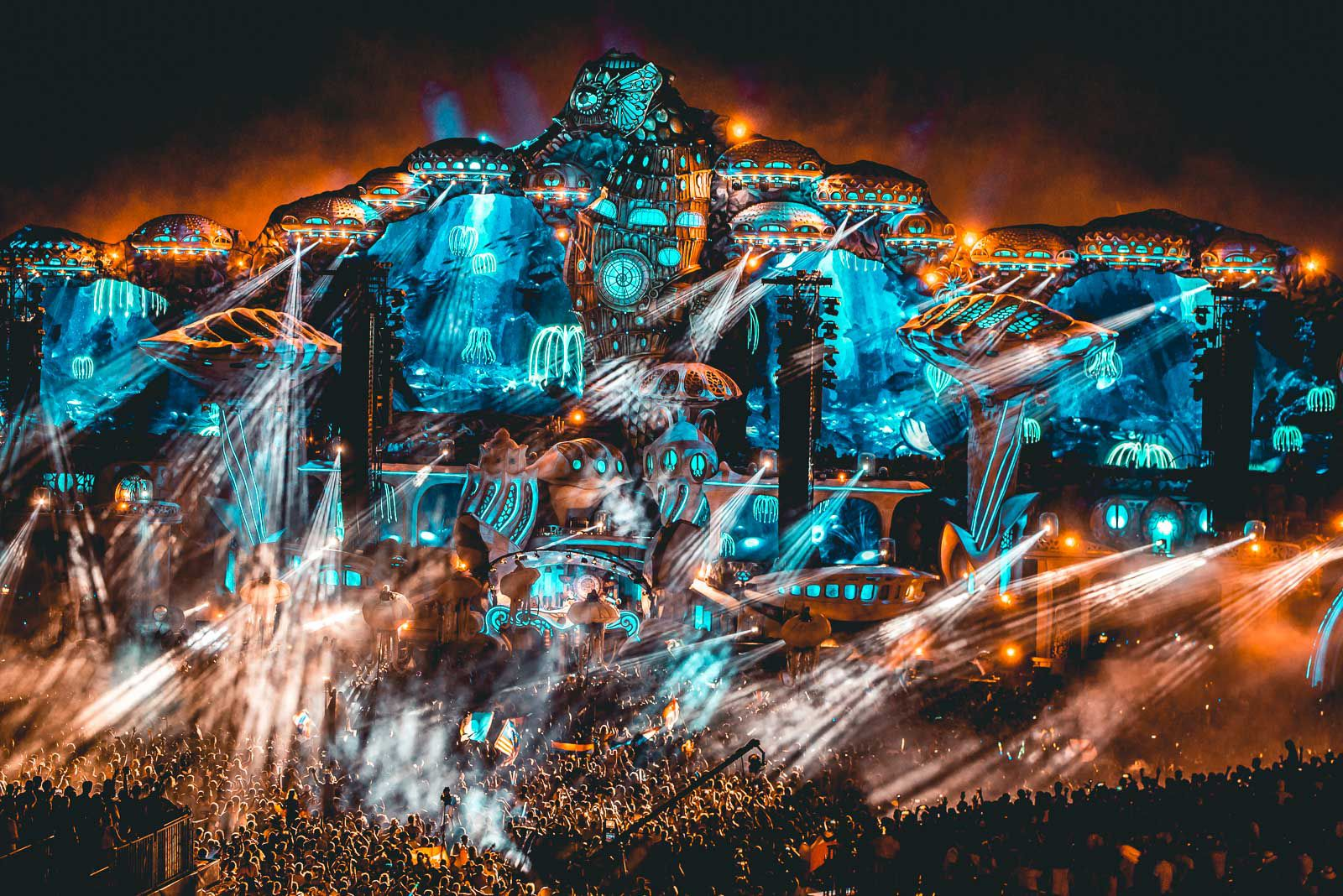 Tomorrowland - Best Festivals in Europe 2020