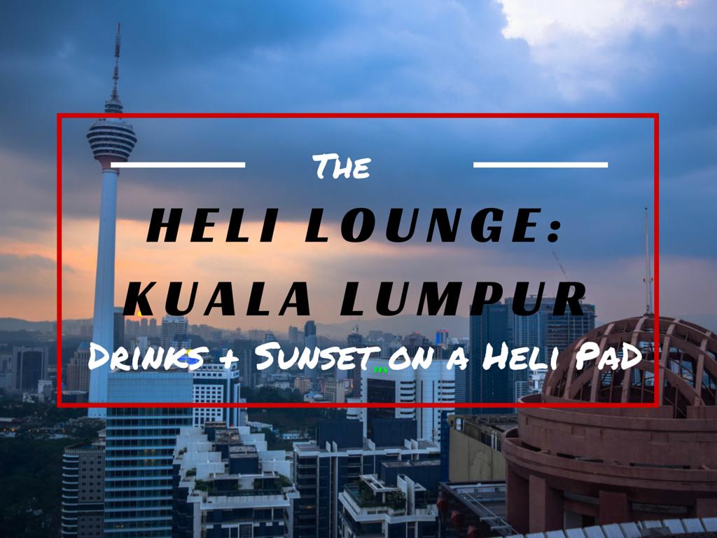 Heli Lounge Kuala Lumpur Drinks Sunset On A Helipad on Beautiful House Plan In Sri Lanka