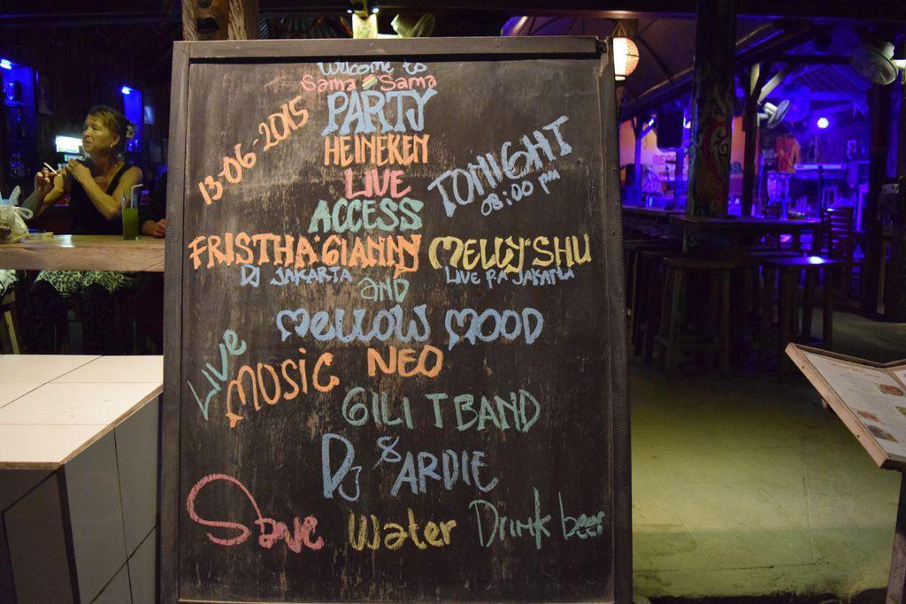 Sama Sama Reggae Bar - Gili Trawangan Things to do