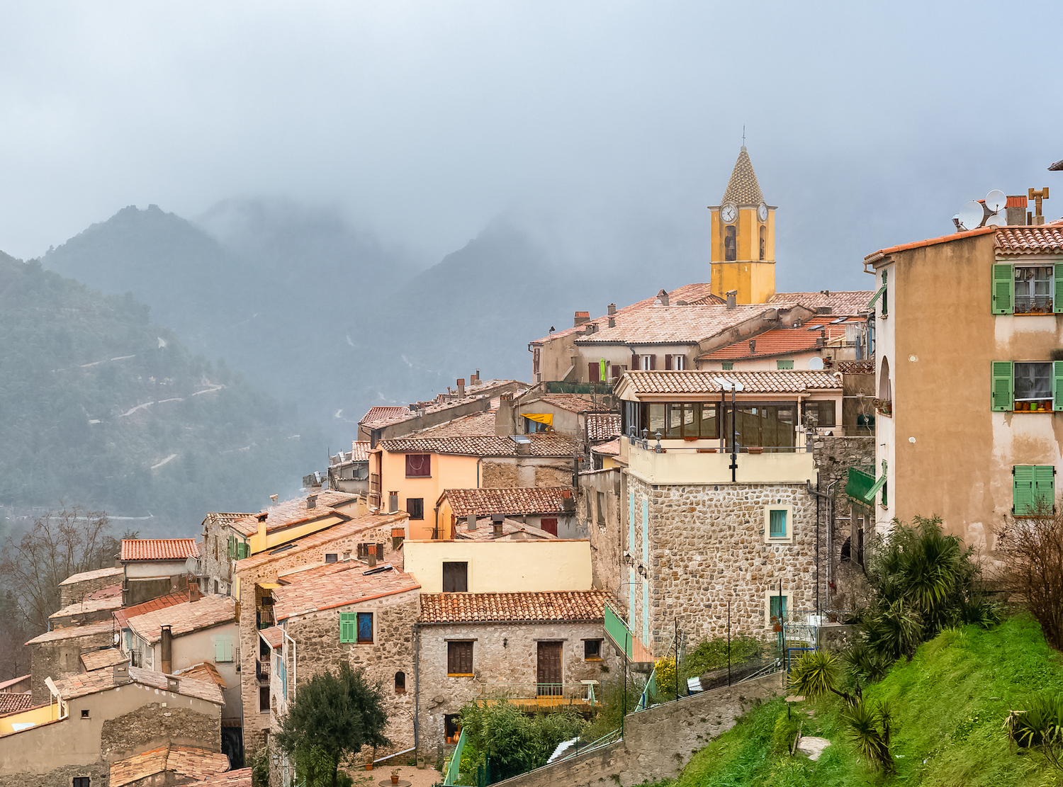 Sainte Agnes - Best Places to visit in the French Riviera