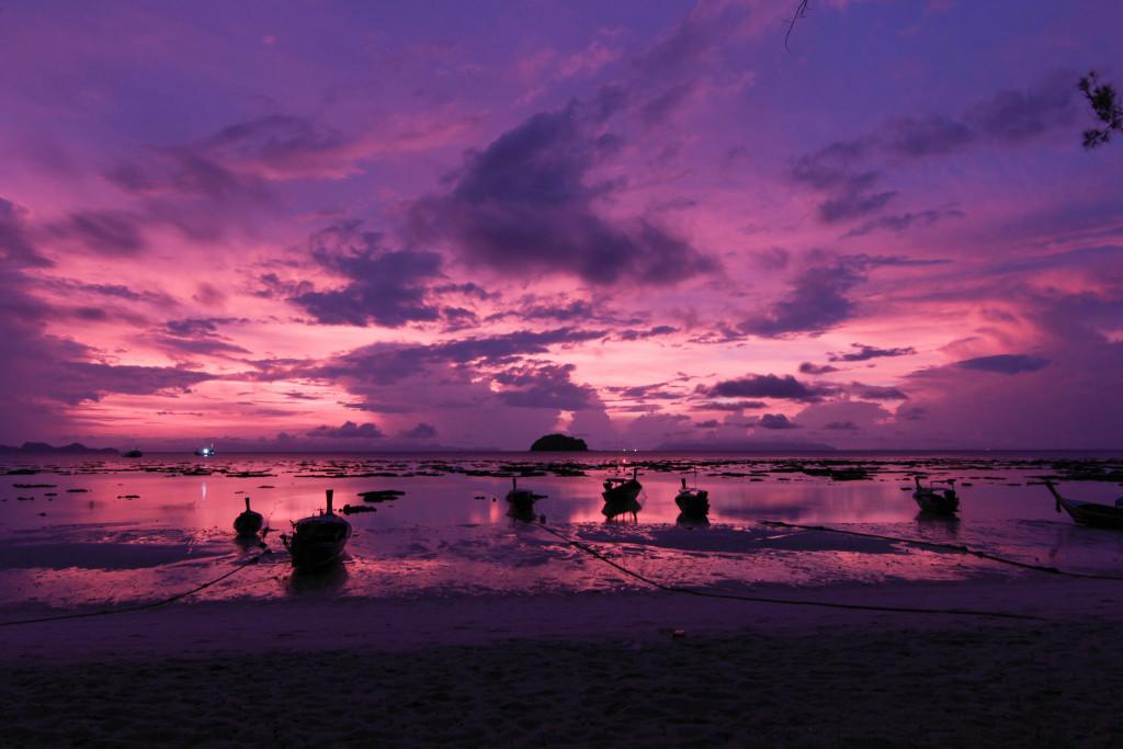 Sunrise on Koh Lipe. Photo credit