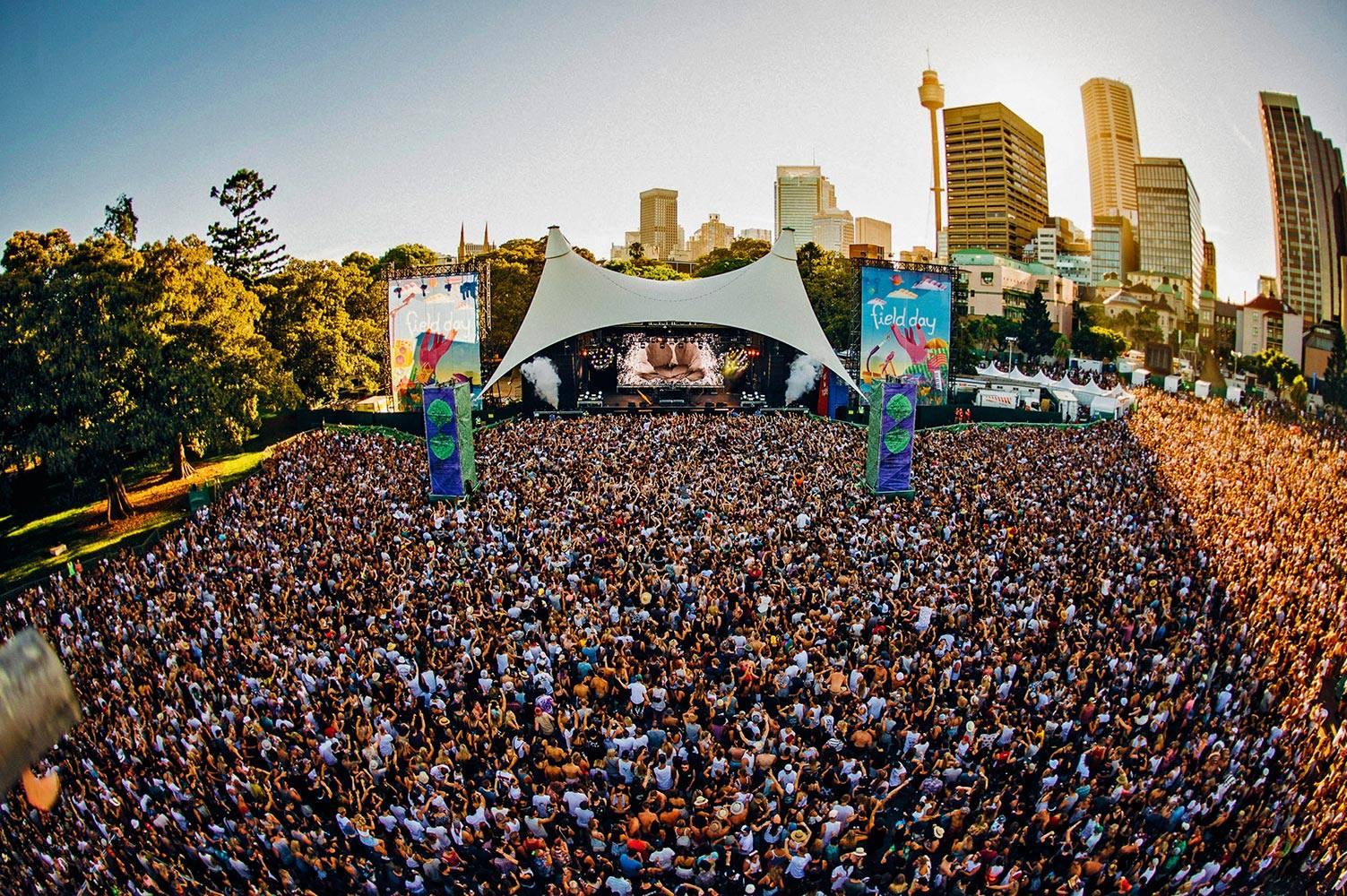 Australia Music Festivals