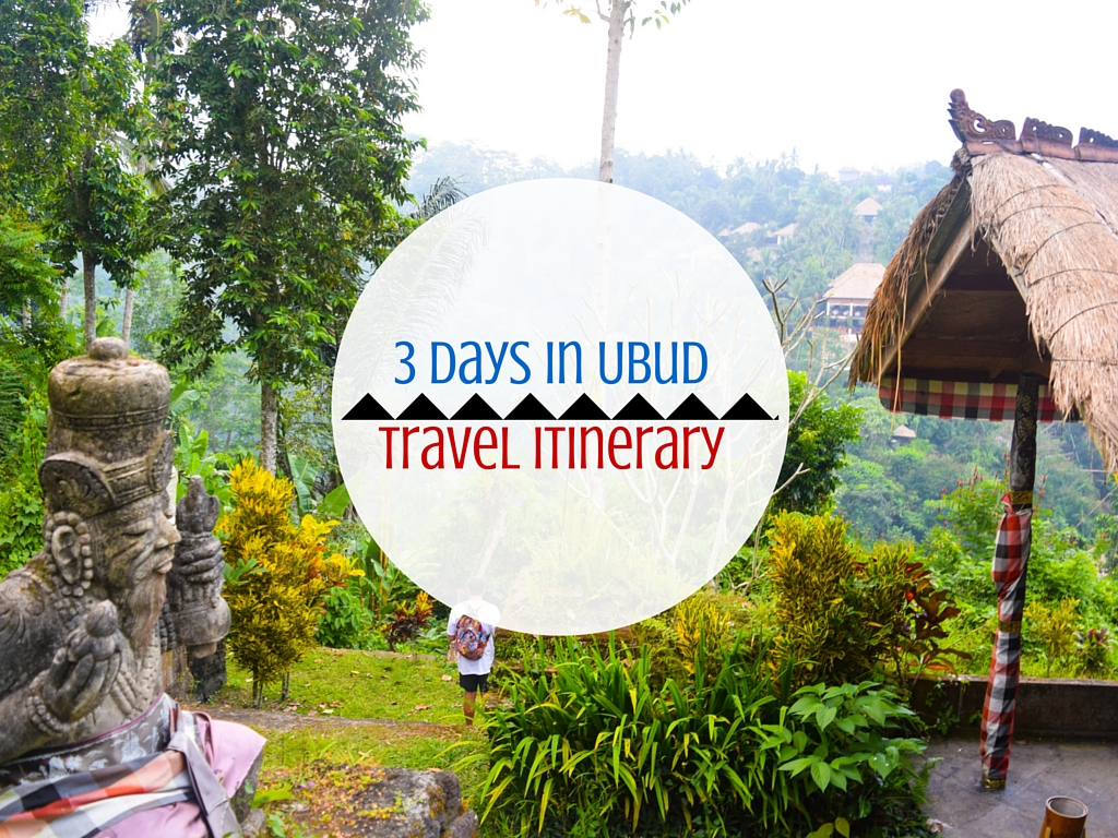 The Best  Day Ubud Itinerary