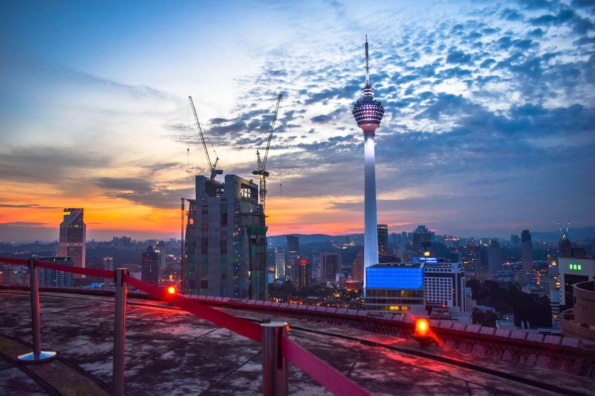 Heli Lounge Kl Bar - Malaysia Itinerary