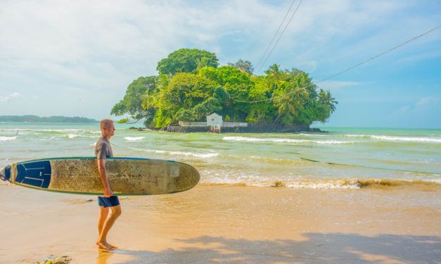 Midigama & Weligama:  Learning to Surf in Sri Lanka