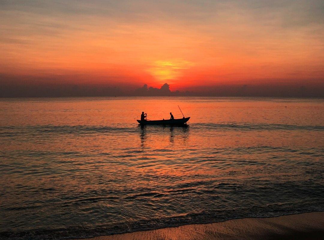 Sunset Arugam Bay