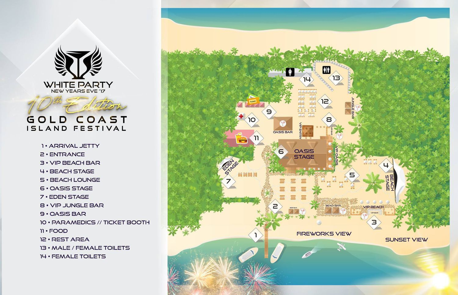 Gold Coast New Years Eve Festival 2019