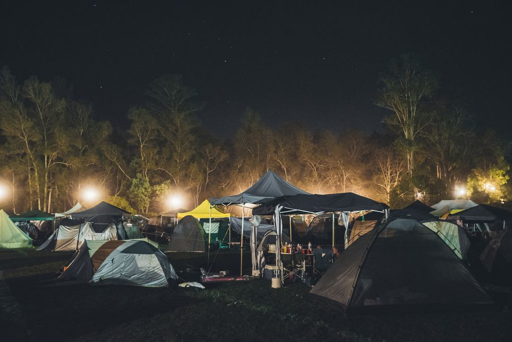 music festival camping gear
