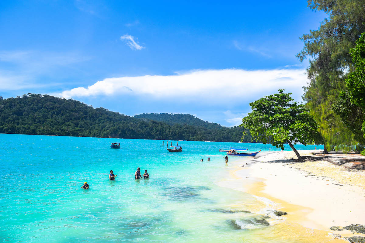 Best beaches on Langkawi