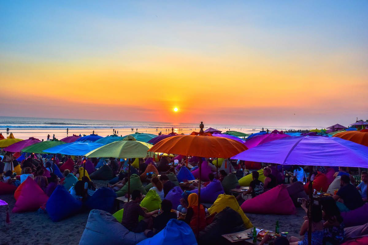 La Plancha Sunset - 7 Days Bali itinerary