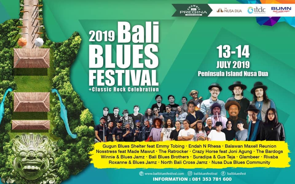 Bali Blues Music Festival Bali Line-up 2019