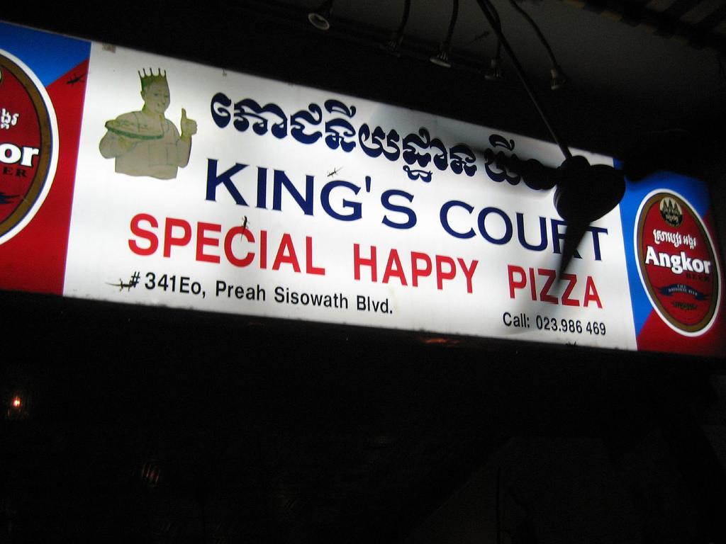 Happy Pizza in Cambodia
