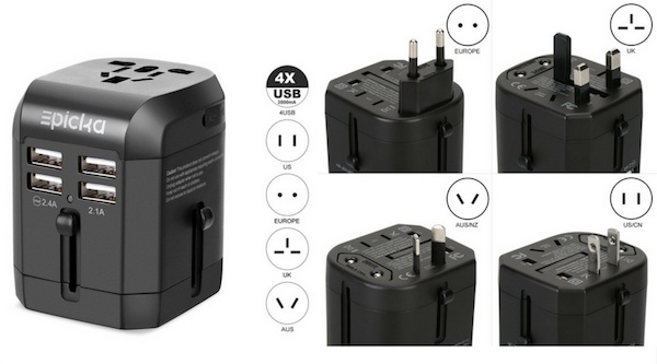 Universal Travel Adaptor - Best Gifts for Traveling Man