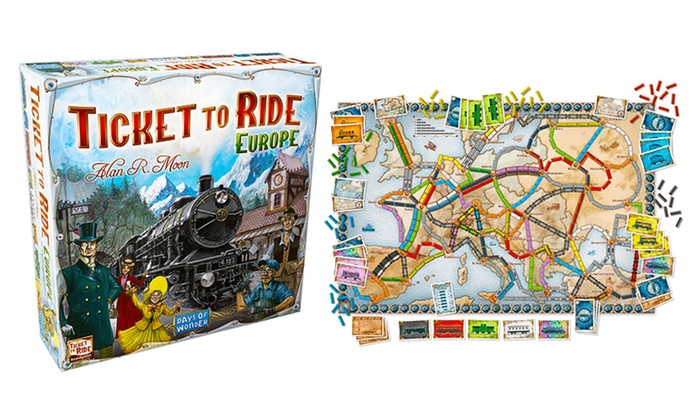 23 Ticket To Ride Europe Board Game Gift Ideas