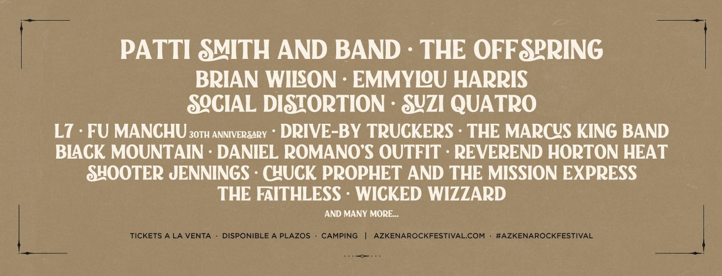 Azkena Rock Festival Spain 2022