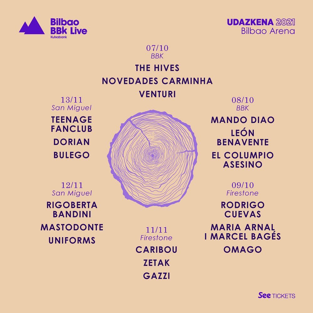 Bilbao BKK LIVE Festival Spain 2022