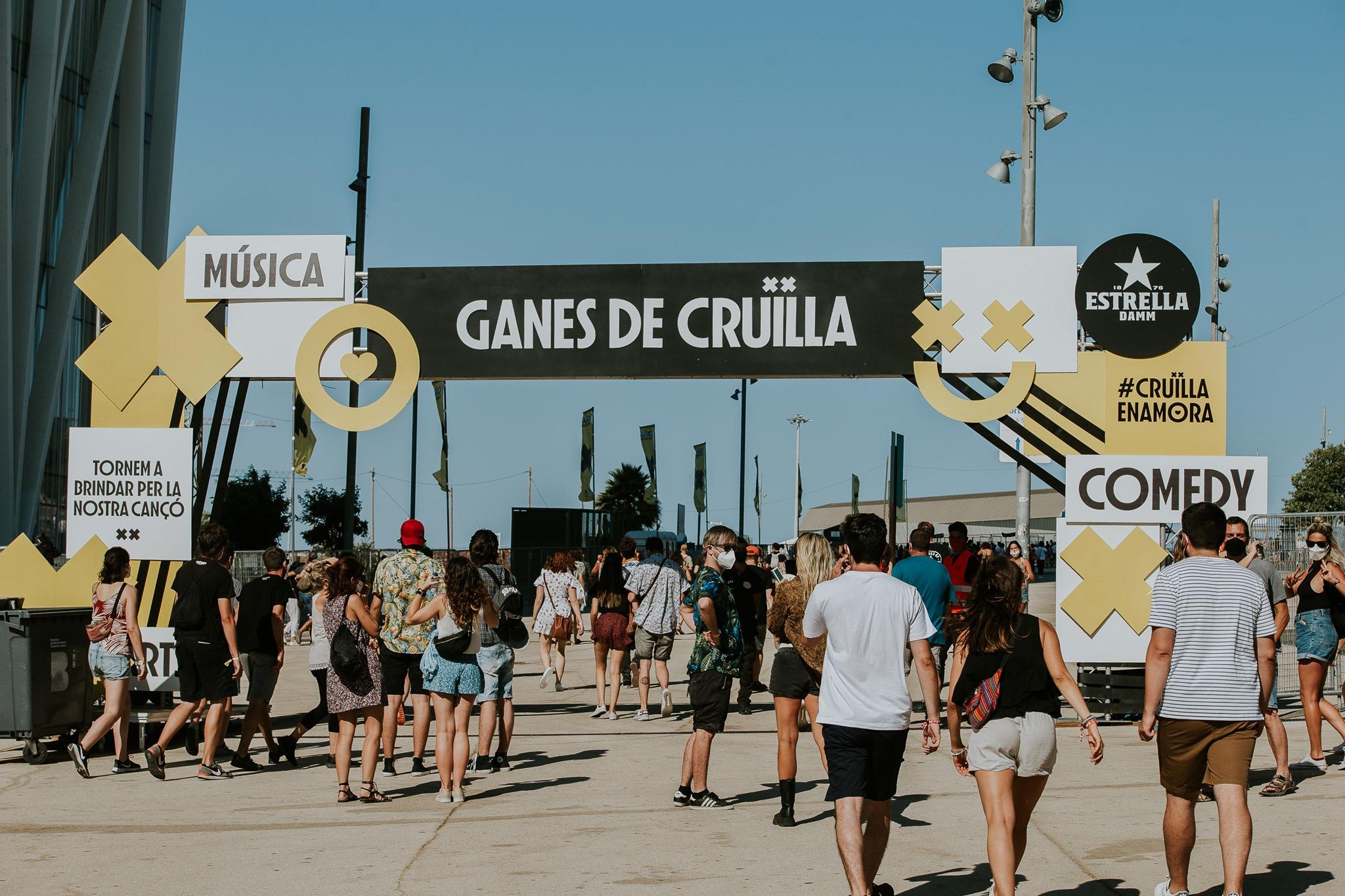 Cruïlla Barcelona Festival in Spain 2022
