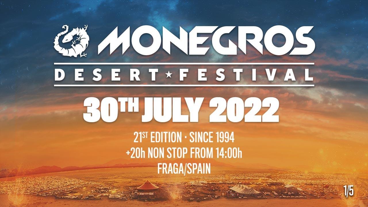 Monegros Desert Festival Spain 2022