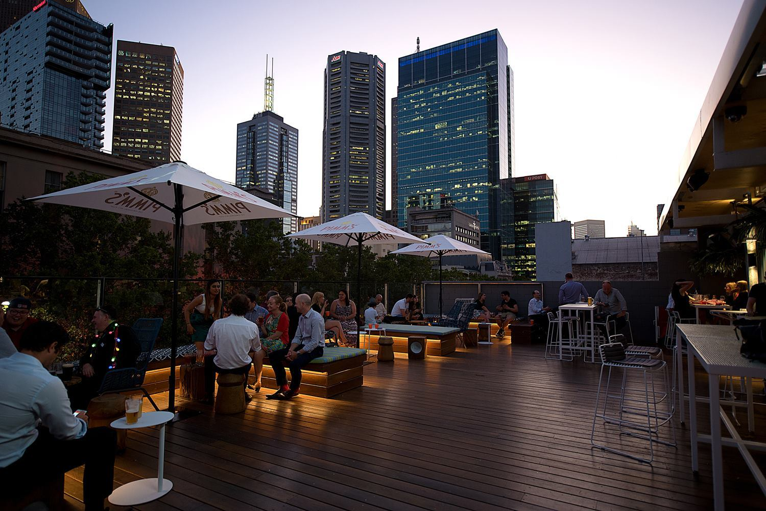 Best Rooftop Bars in Melbourne - Imperial Hotel