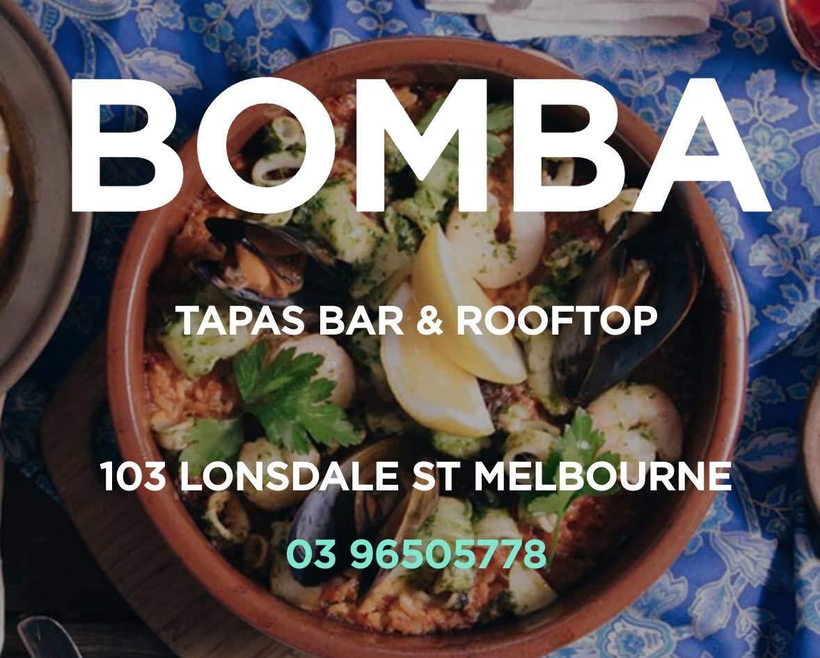 Bomba - Rooftop Tapas Bar Melbourne