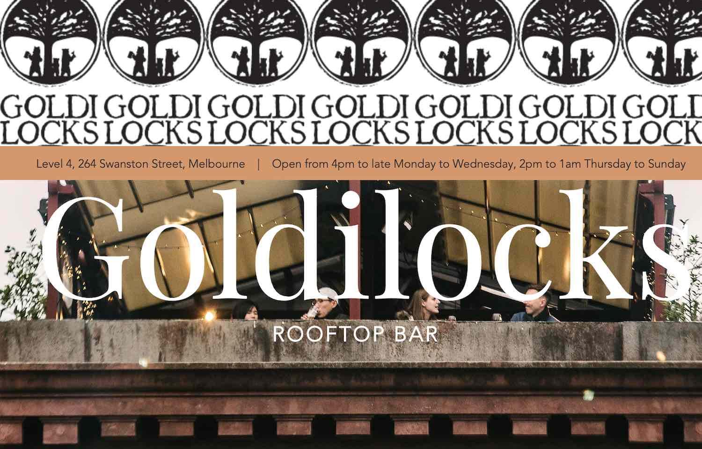 Goldlocks Rooftop Bar in Melbourne 2019