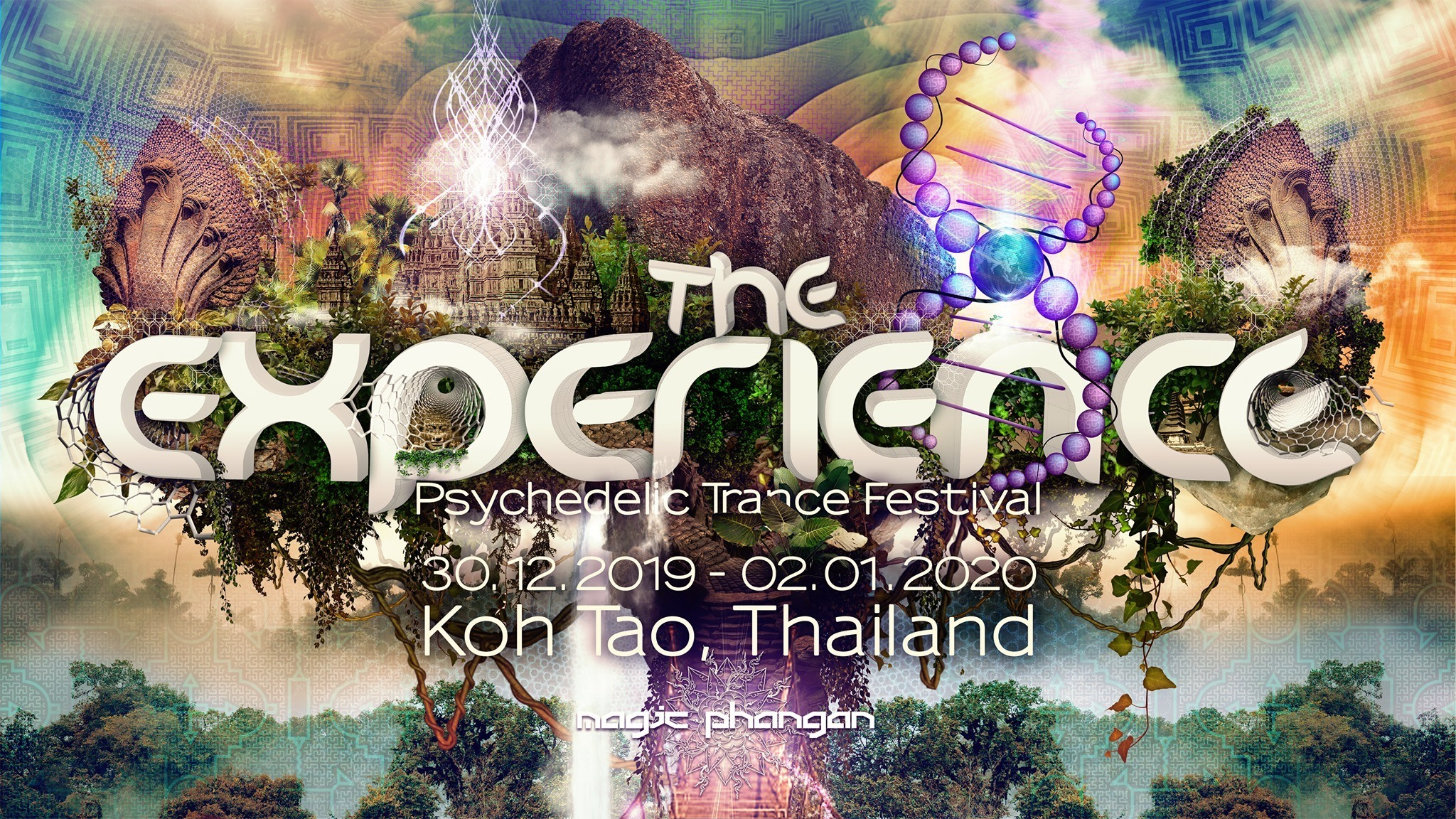The Experience Koh Tao - Psy Trance Music Festival Thailand 2019