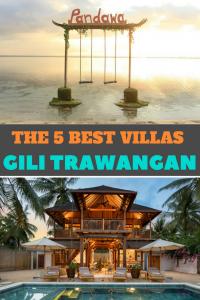 The 5 Best Villas on Gili Trawangan