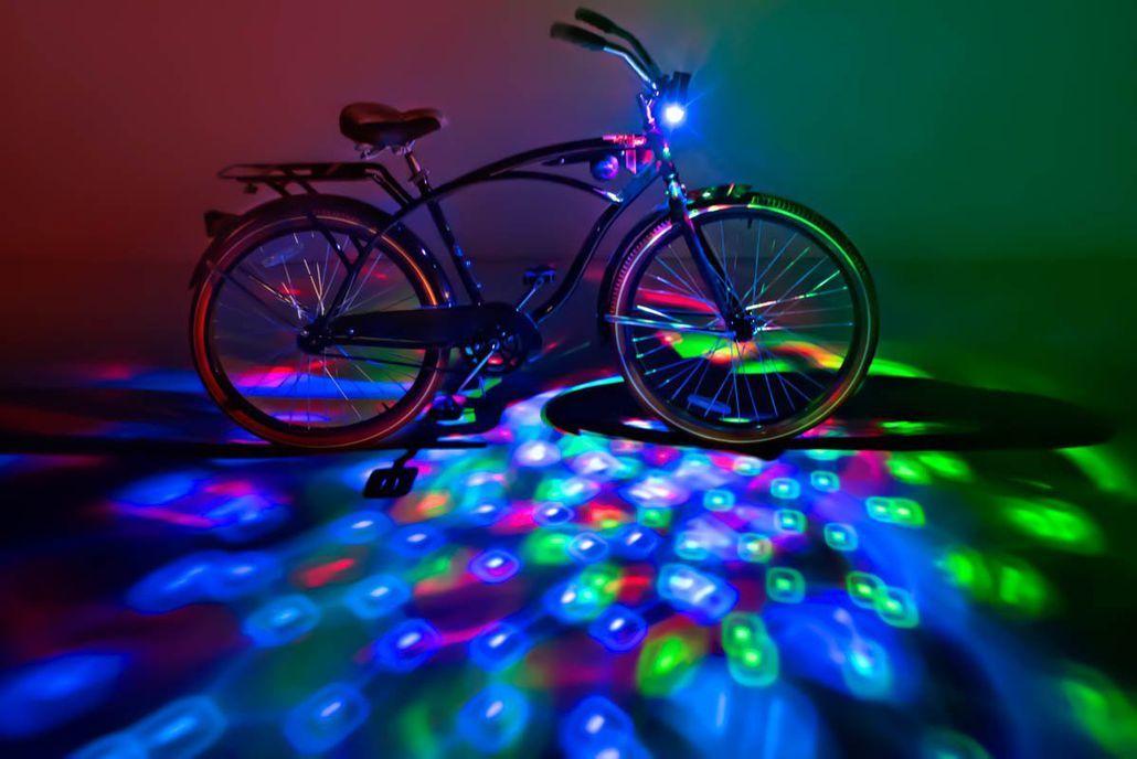 Burning Man Bike LED Accessories