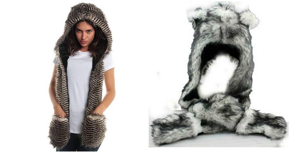 Burning Man Spirit Hood Hats