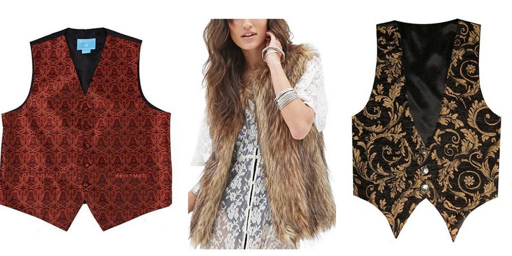 Burning Man Vests Fashion