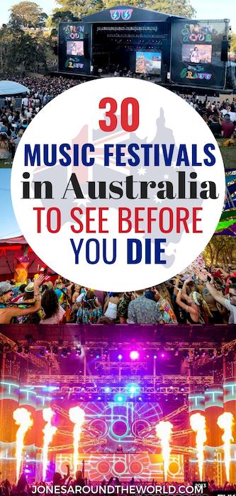 Best Music Festivals in Australia