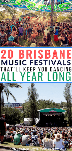 Brisbane Music Festivals