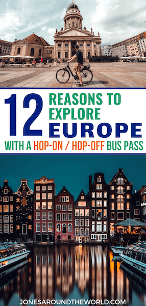 Europe Hop on Hop Off Bus Pass