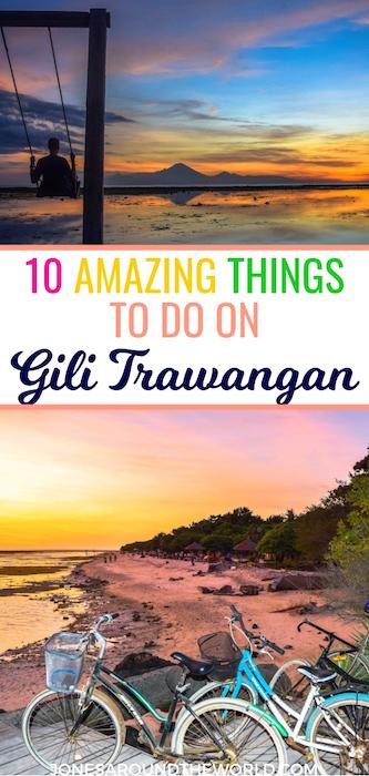 Best Things to do on Gili Trawangan 2019