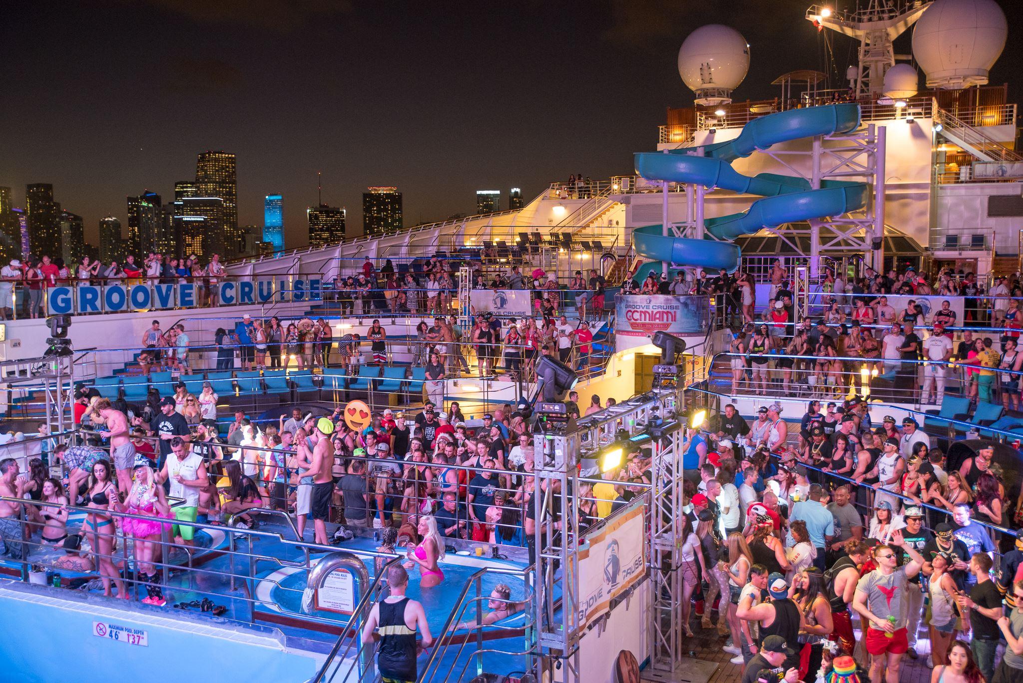 Groove Cruise 2020 - Best Florida Music Festivals