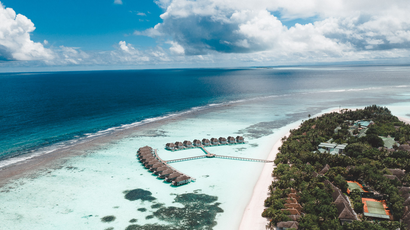 Where is Hot in January - Maldives