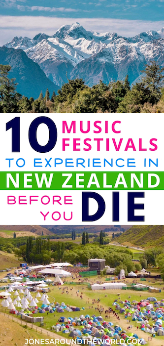 Best Music Festivals in New Zealand 2019