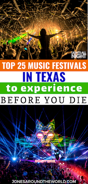 Texas Music Festivals