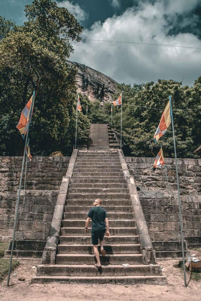 Yapahuwa Rock Fortress
