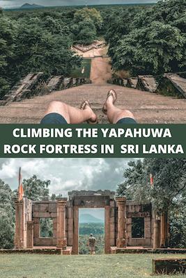 Yapahuwa Rock Fortress, Sri Lanka