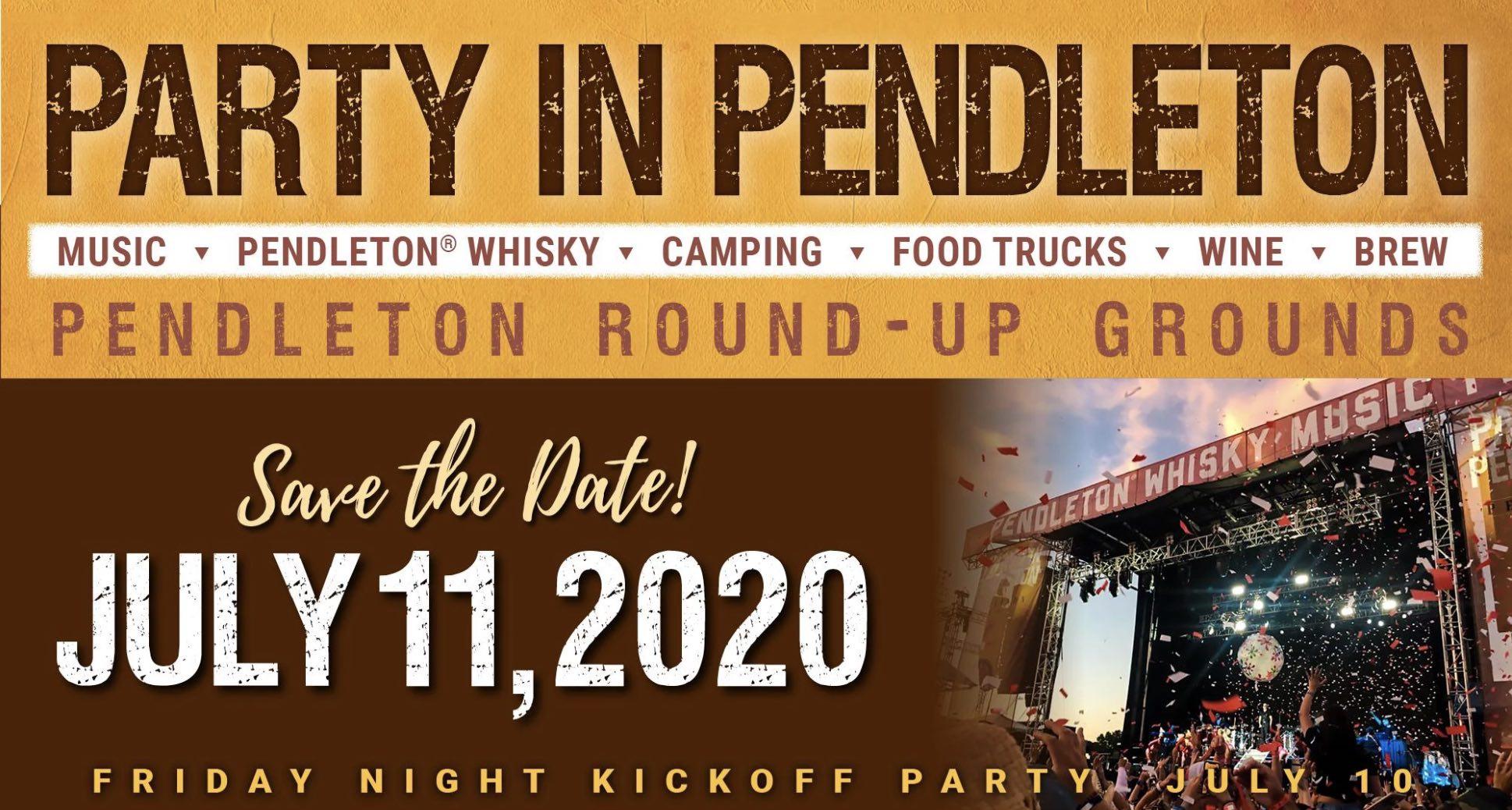 Pendleton Whisky Festival - Best Music Festivals in Oregon 2020