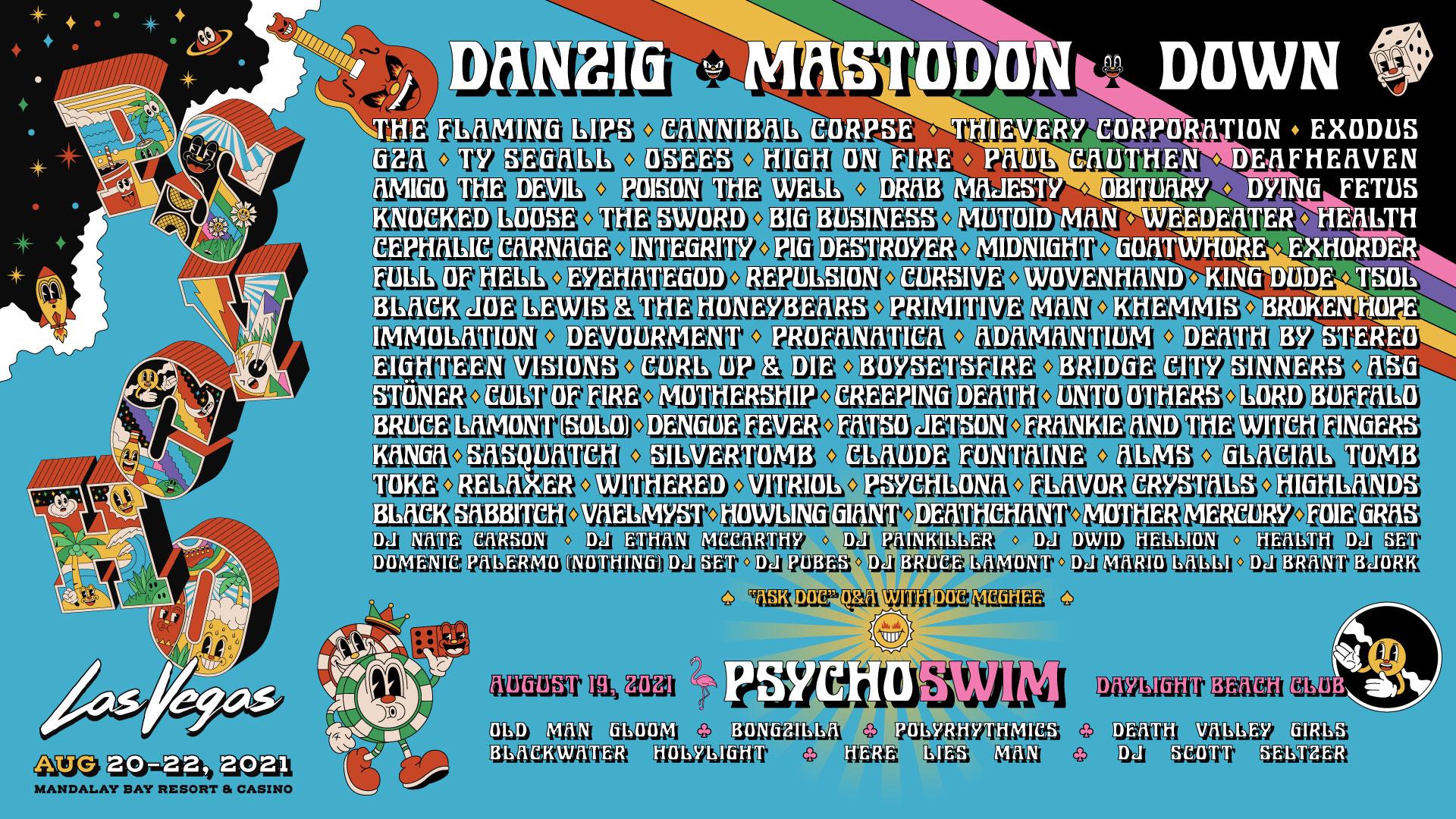 Viva Psycho Music Festival Las Vegas
