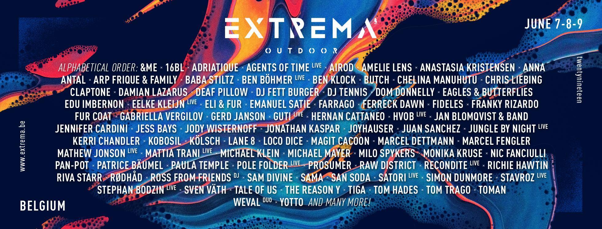 EDM Festivals in Belgium