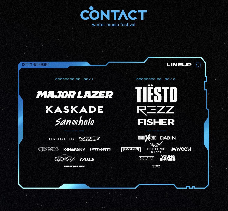 Contact Music Festival - Best Music Festivals in Canada