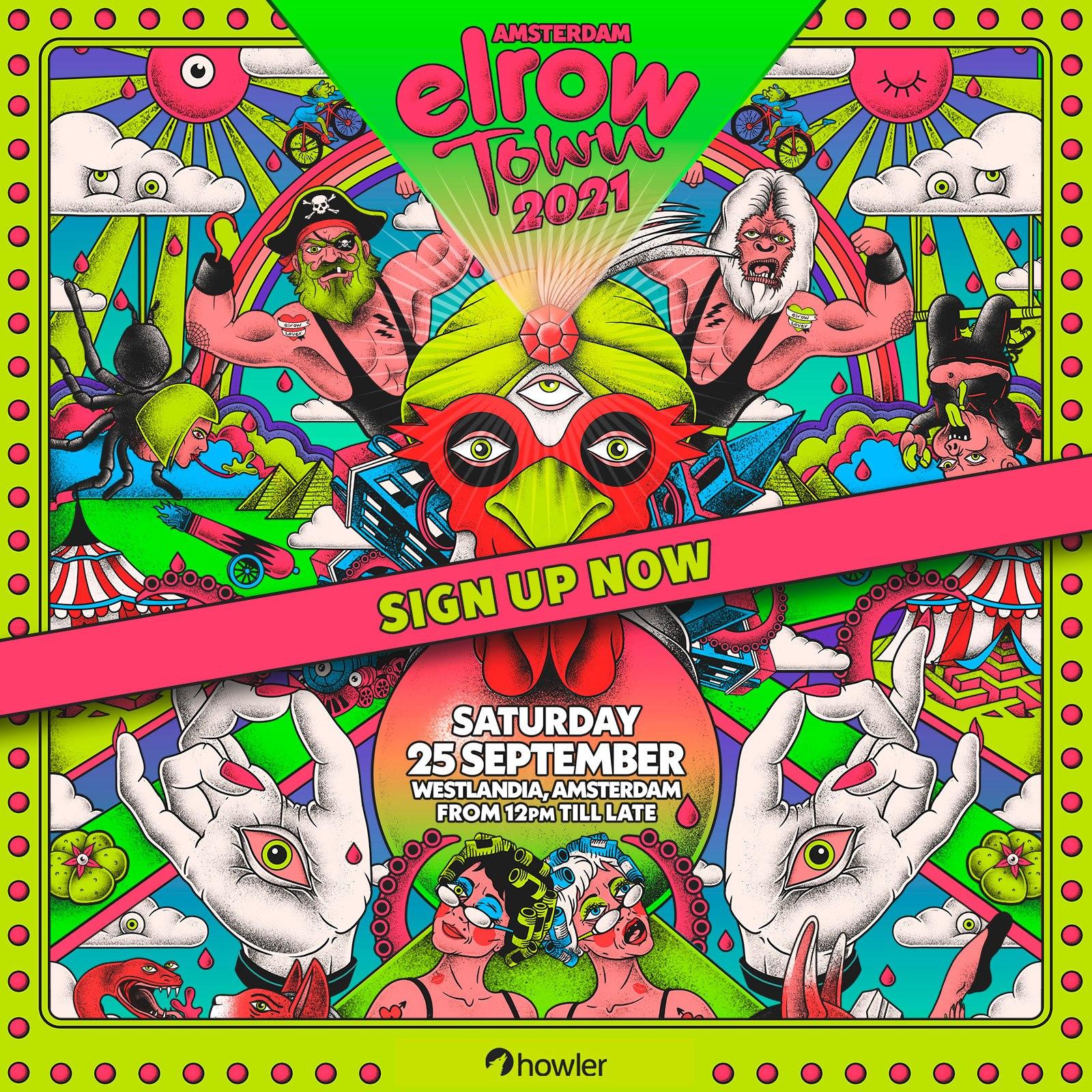 ElrowTown Festival Amsterdam September 2021